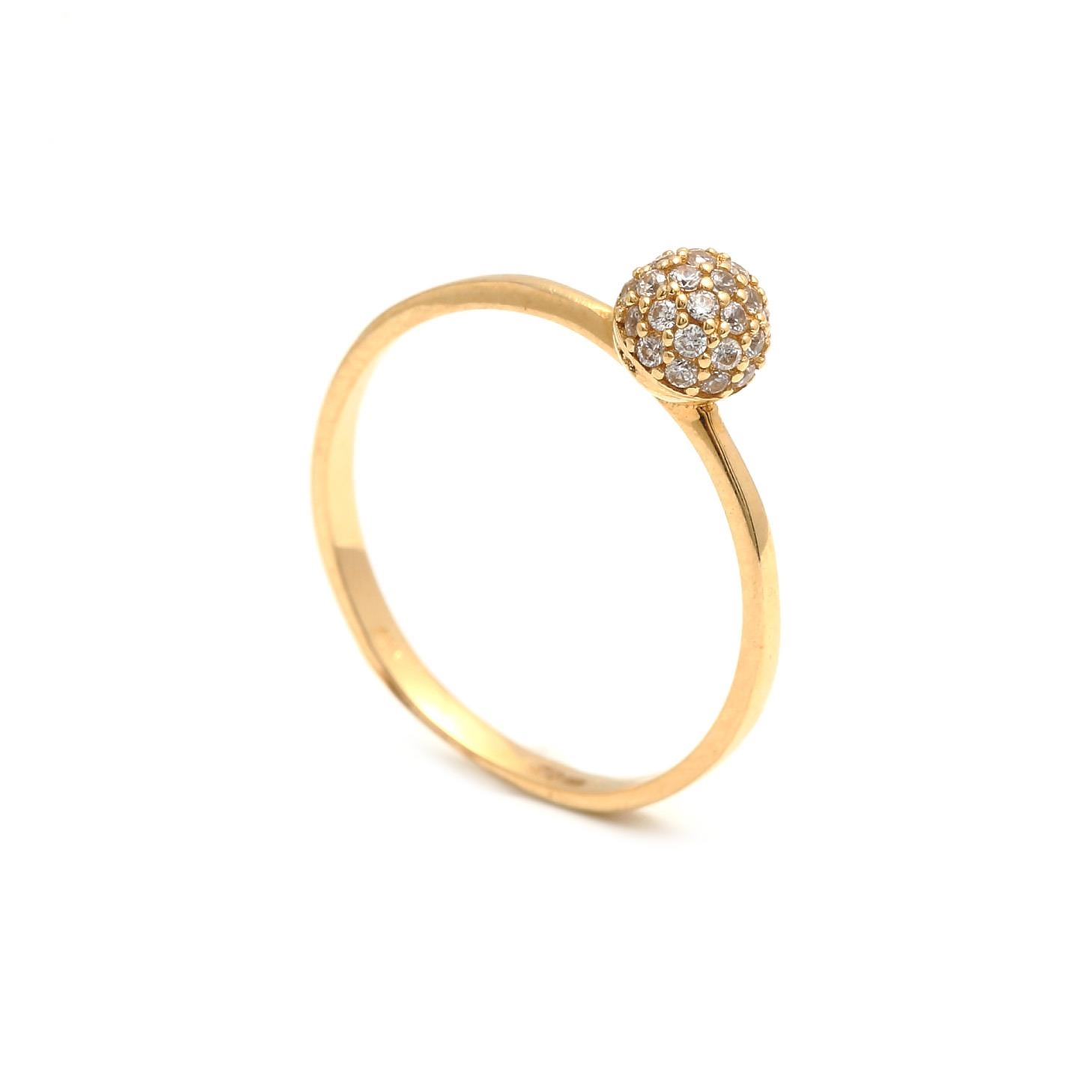 Zlatý dámsky prsteň SAVERIA 1PZ00162