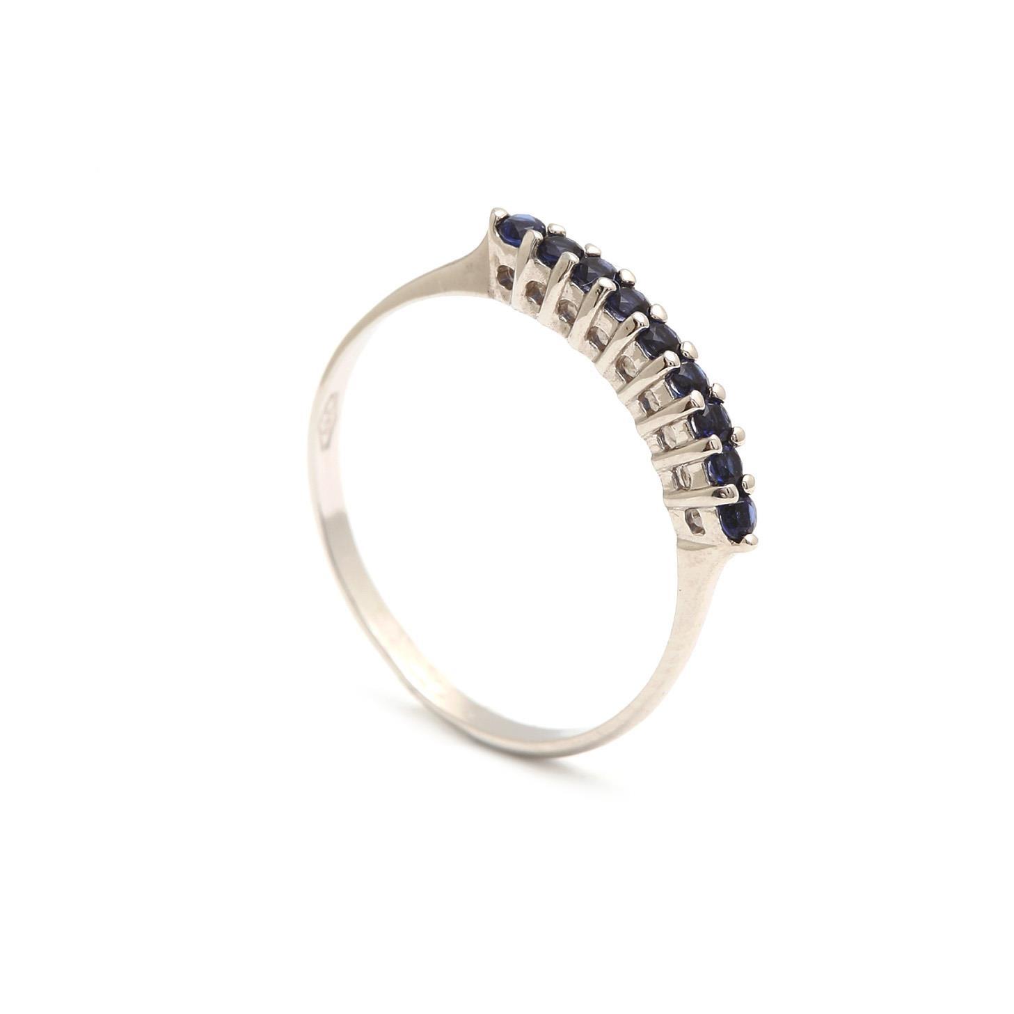 Zlatý dámsky prsteň SELVAGGIA blue 1PB00166