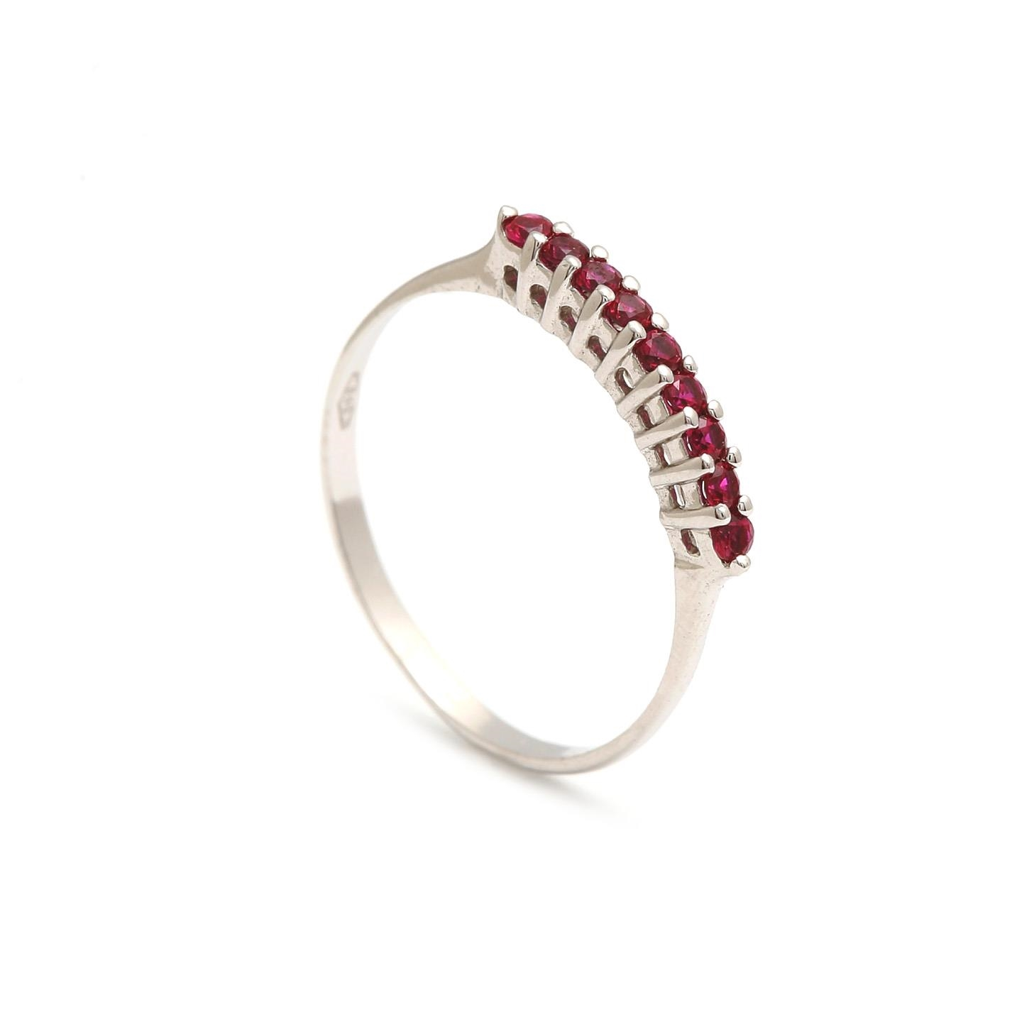 Zlatý dámsky prsteň SELVAGGIA red 1PB00167