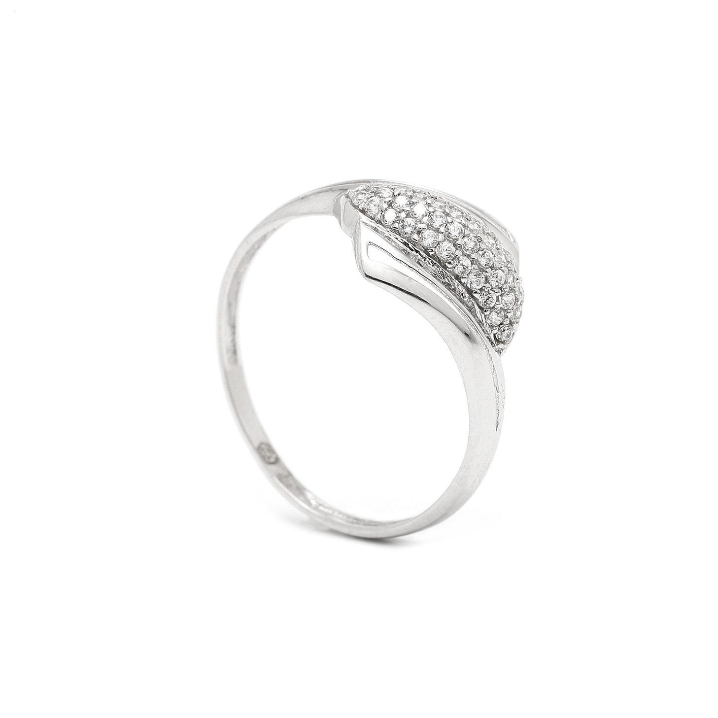 Zlatý dámsky prsteň SIBELLA 7PB00341