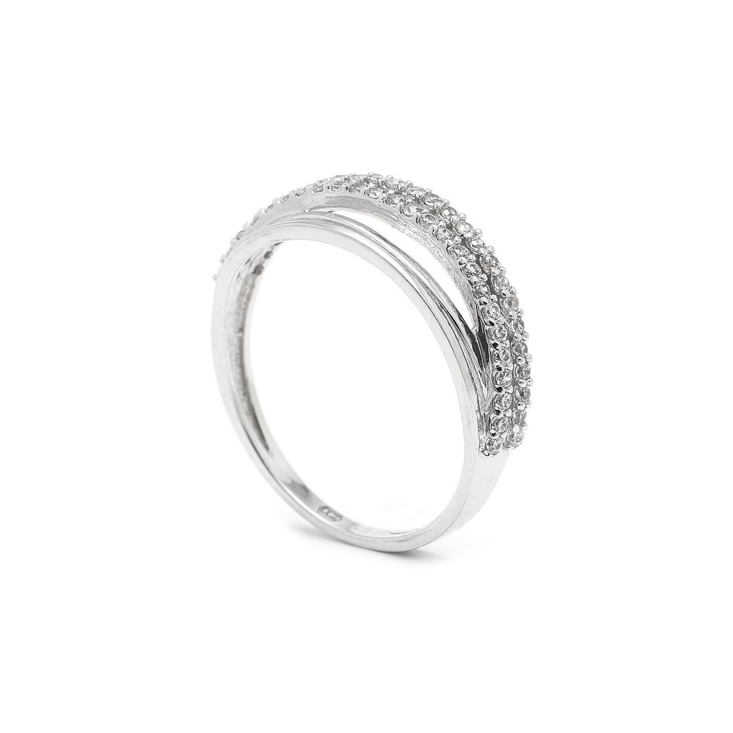 Zlatý dámsky prsteň STEREN 7PB00343