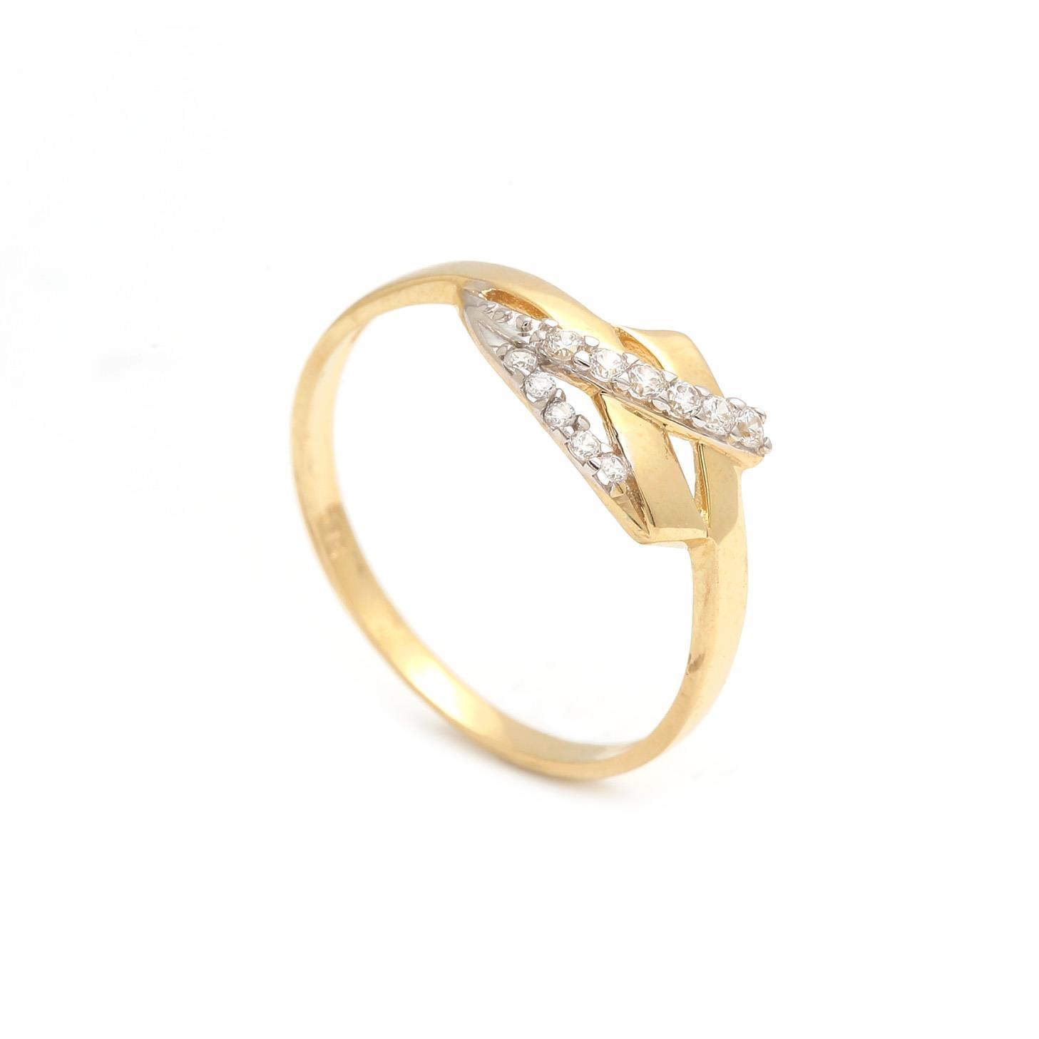 Zlatý dámsky prsteň THEODOSIA 1PZ00182
