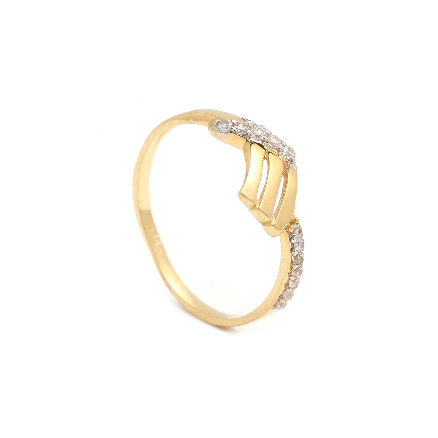 Zlatý dámsky prsteň THEOKLEIA 1PZ00183