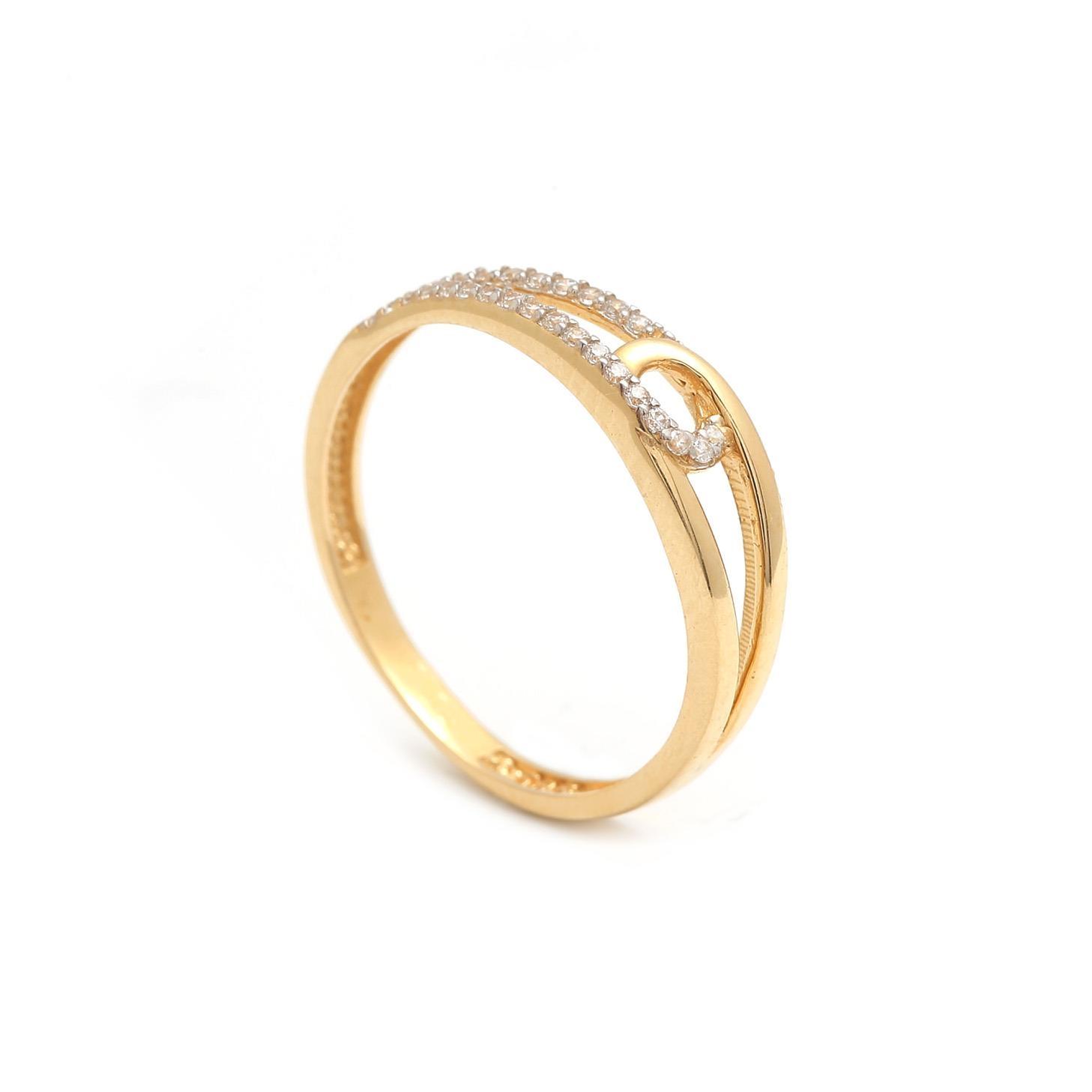Zlatý dámsky prsteň THEOPHANIA 1PZ00184