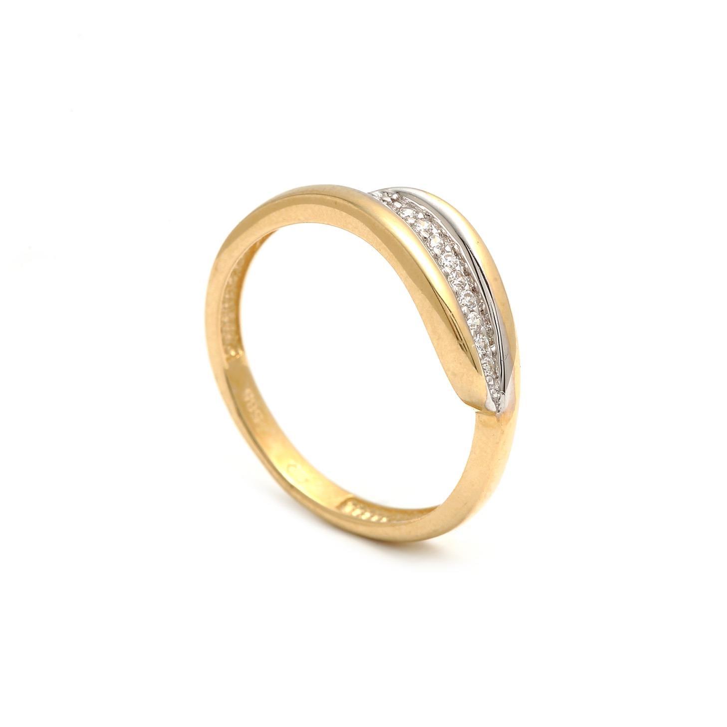Zlatý dámsky prsteň THEOPHILA  1PZ00181