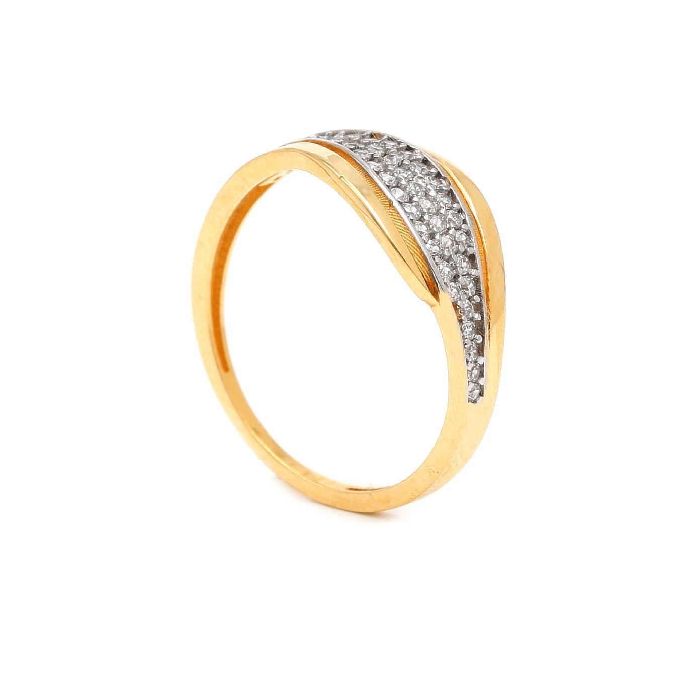 Zlatý dámsky prsteň THERESE 7PZ00361