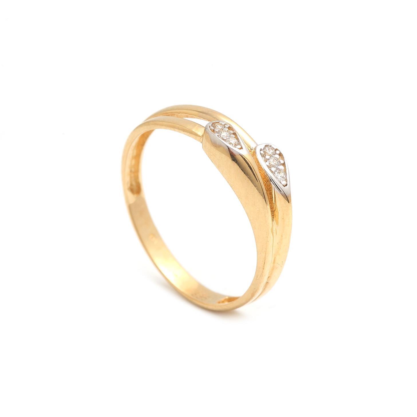Zlatý dámsky prsteň THETIS 1PZ00180
