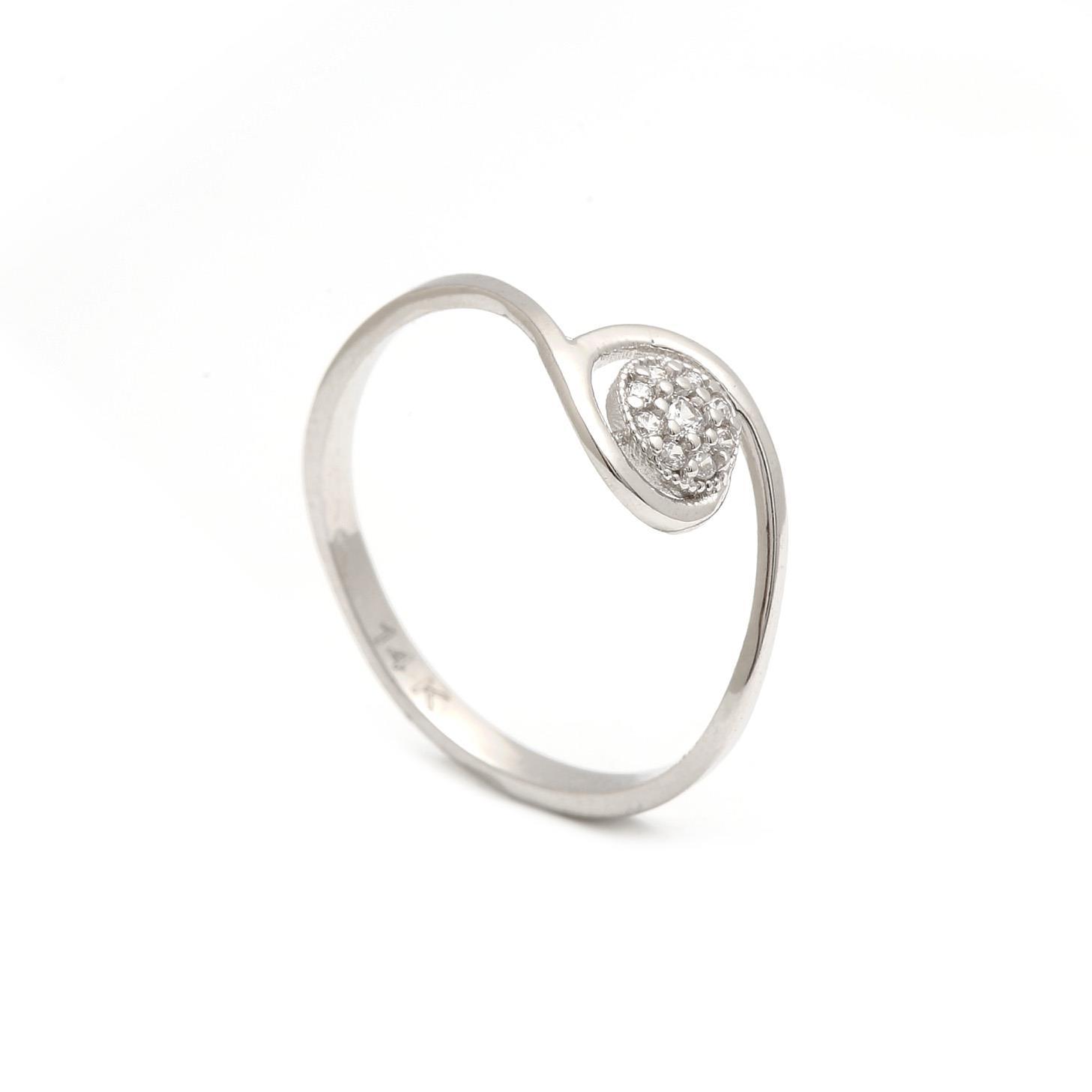Zlatý dámsky prsteň TORNADE 1PB00175