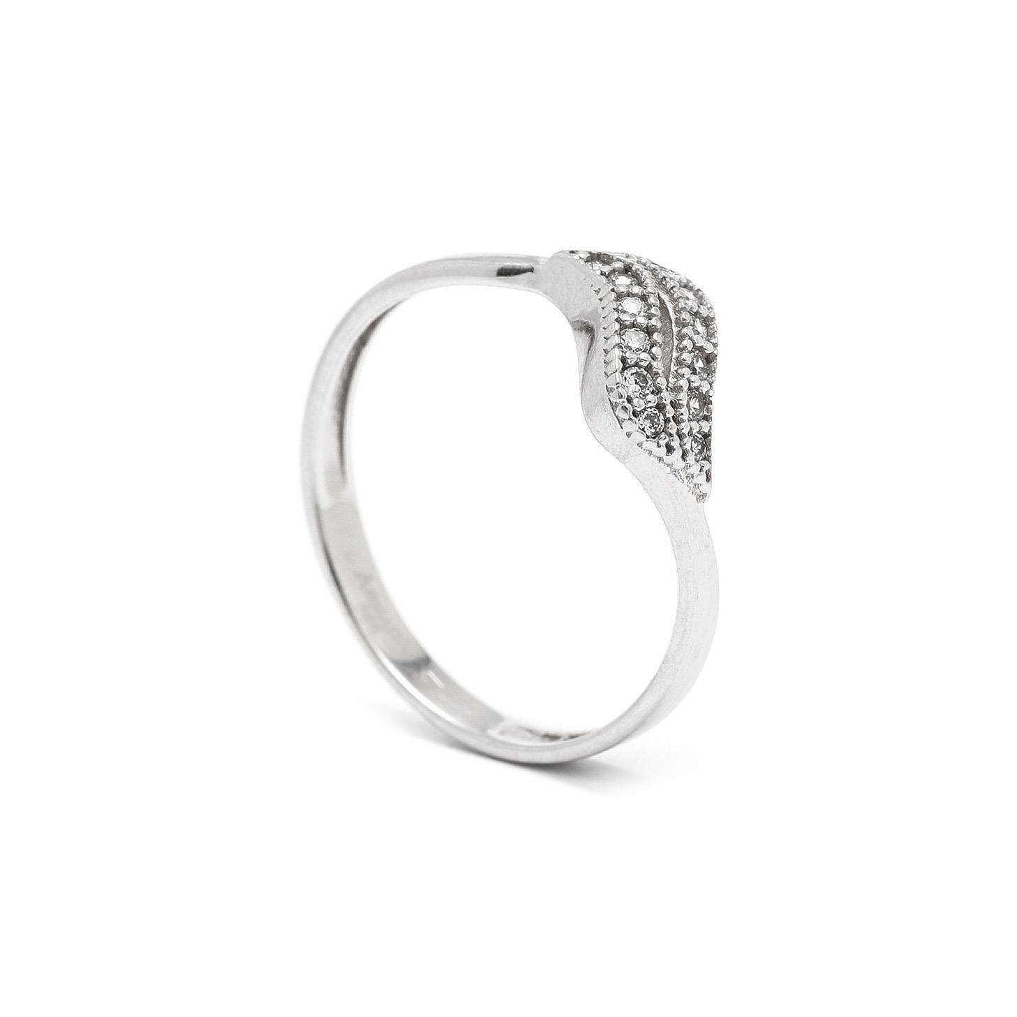 Zlatý dámsky prsteň TRISHNA 7PB00349