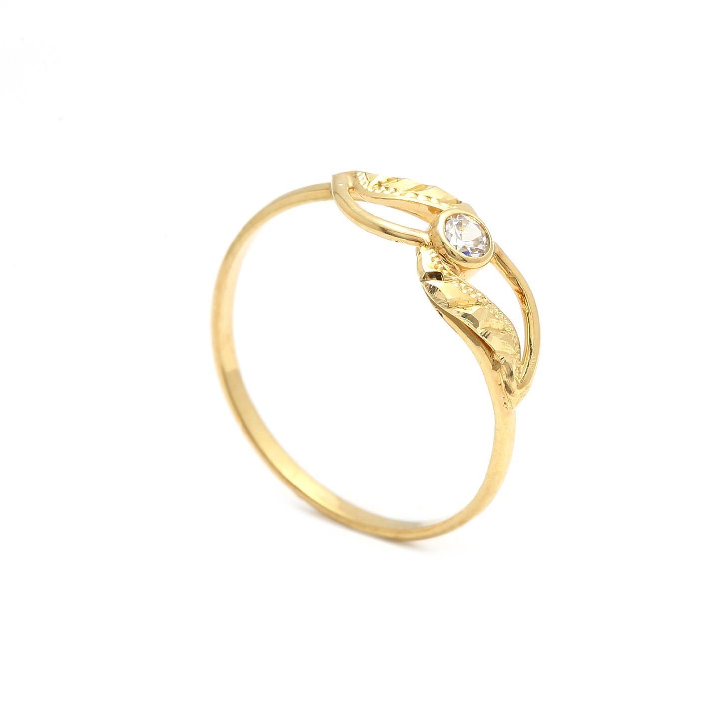 Zlatý dámsky prsteň ZINNIA 2PZ00127