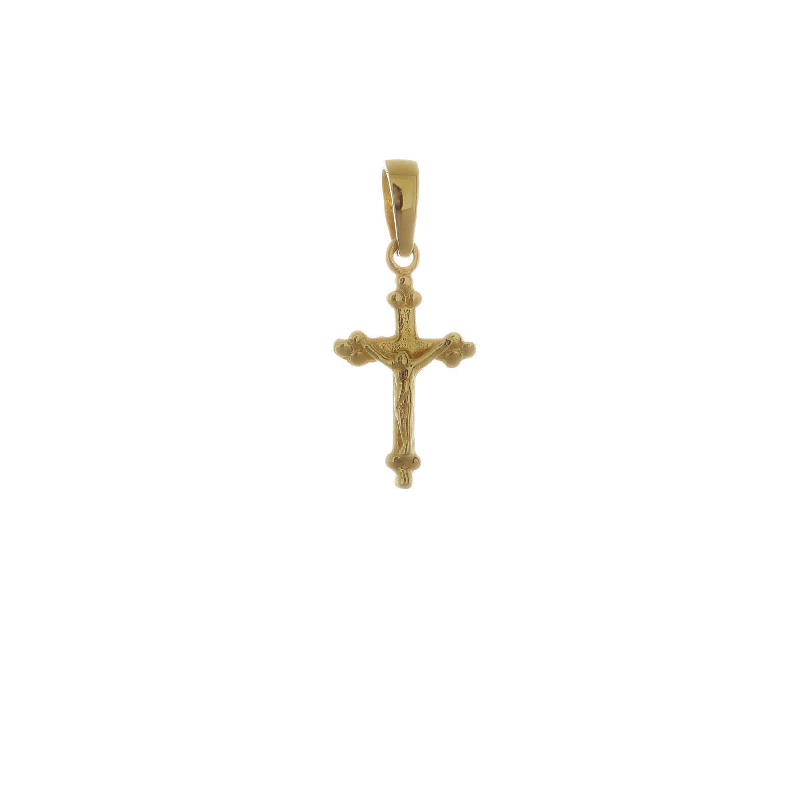 Zlatý krížik s Ježišom 1VZ00099