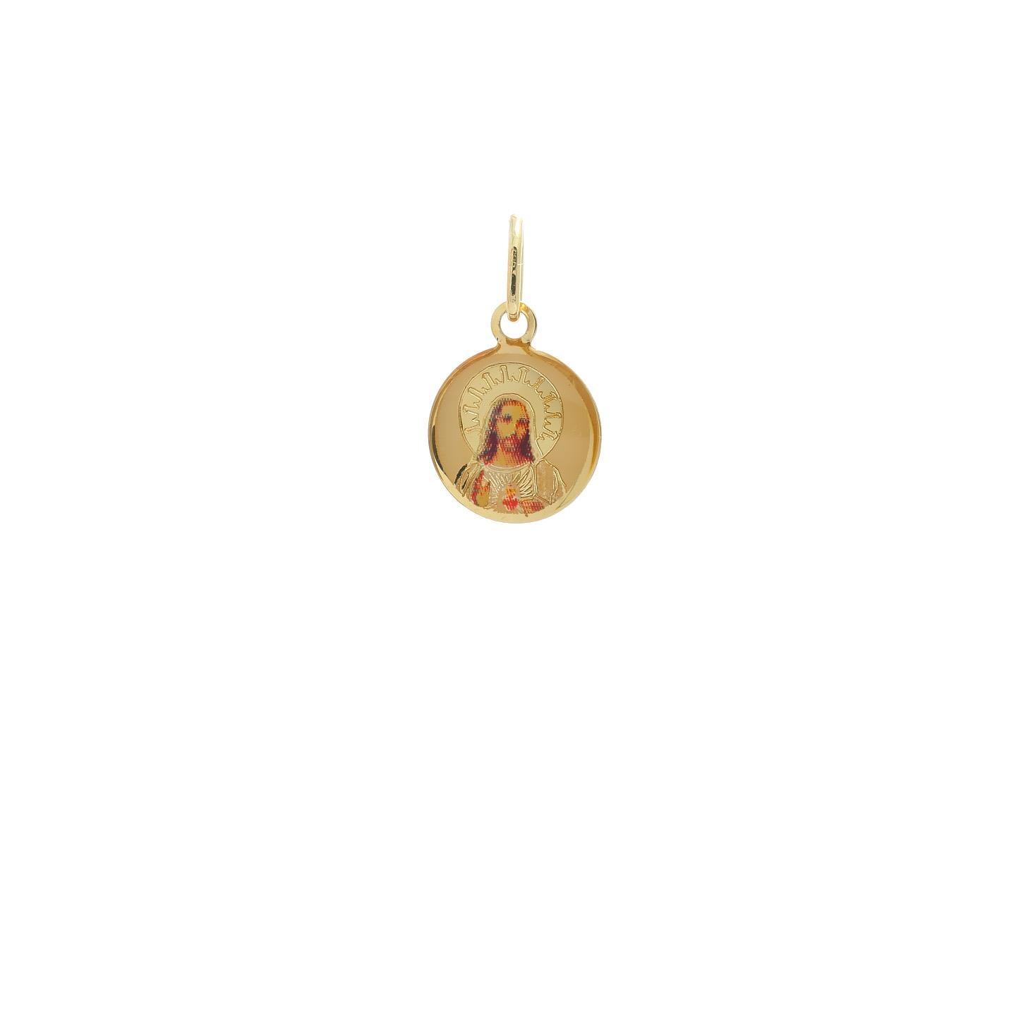 Zlatý medailónik Ježišovo Božské Srdce 10VS00470