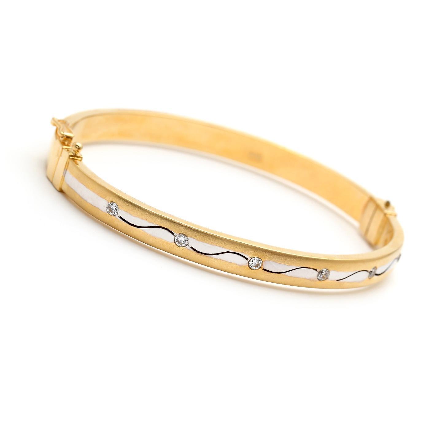 Zlatý náramok ALADINA 5MZ00092