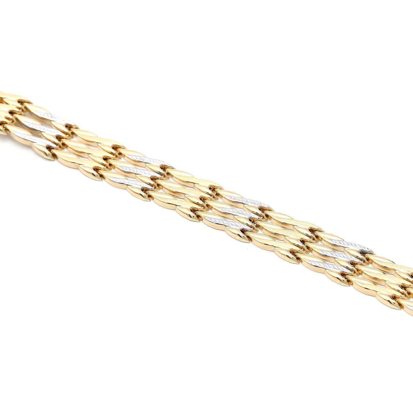Zlatý náramok SOFEE 5MZ00091