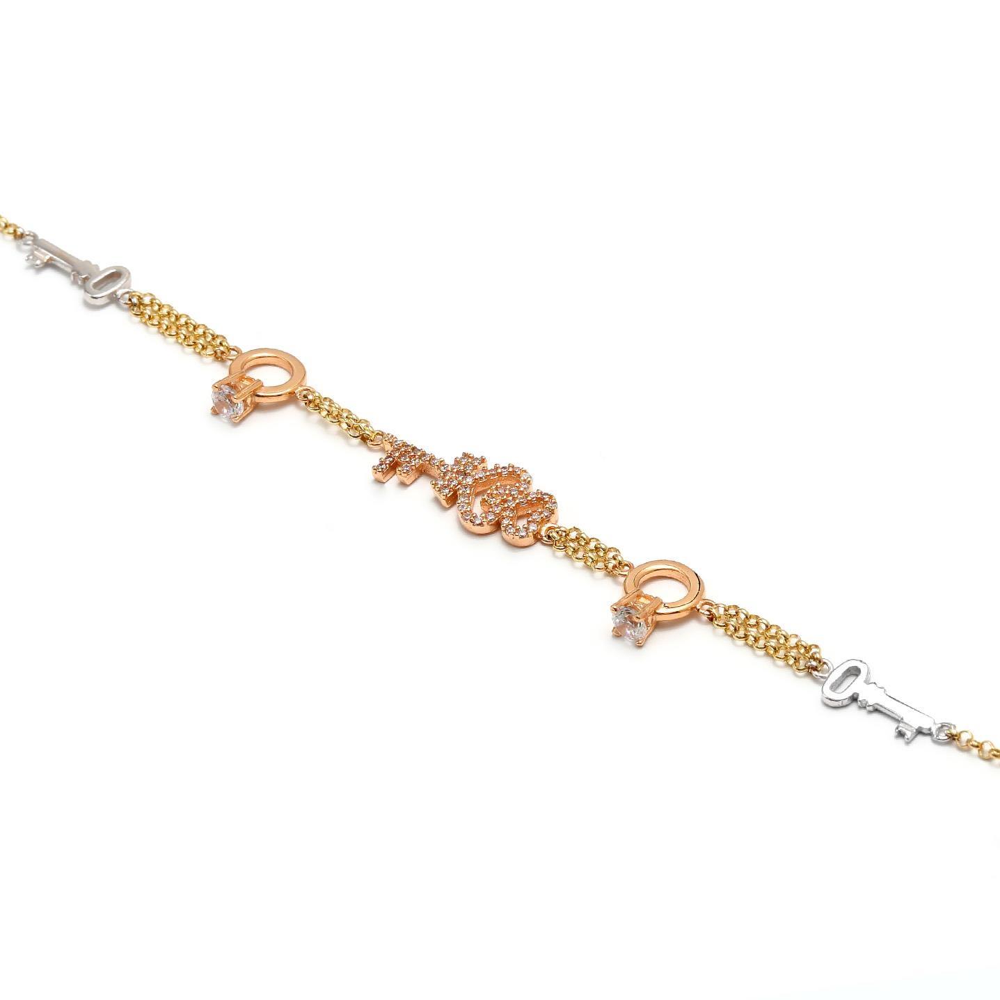 Zlatý náramok ZAREEN 8MK00112