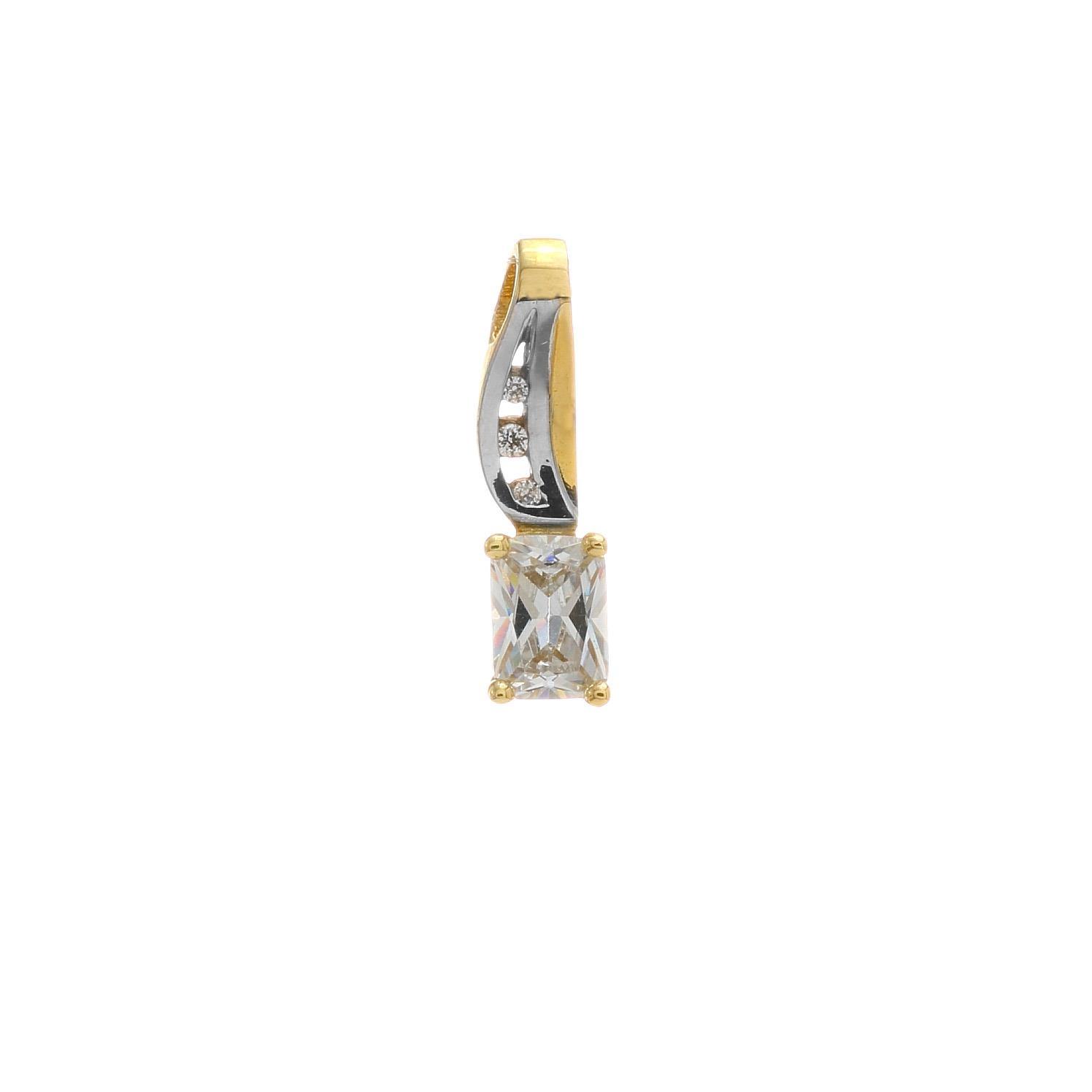 Zlatý prívesok ALASKA 3VK00292