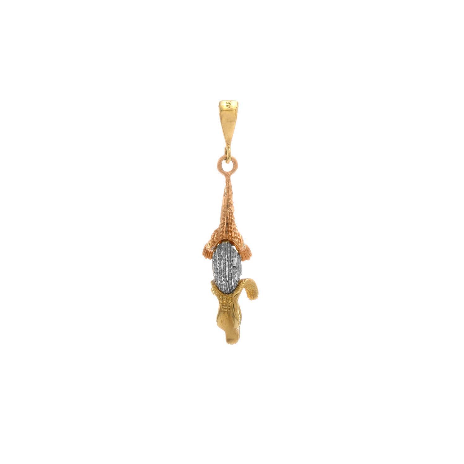 Zlatý prívesok ALIGATOR 3VK00224