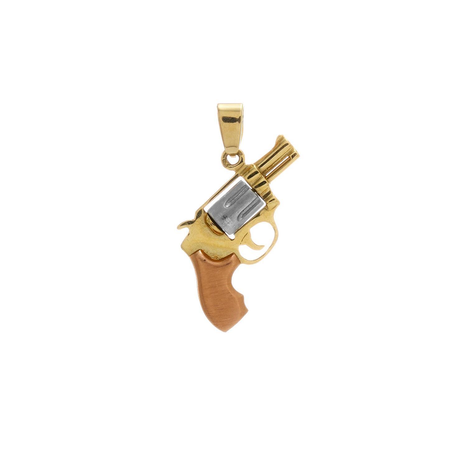 Zlatý prívesok COLT 3VK00222