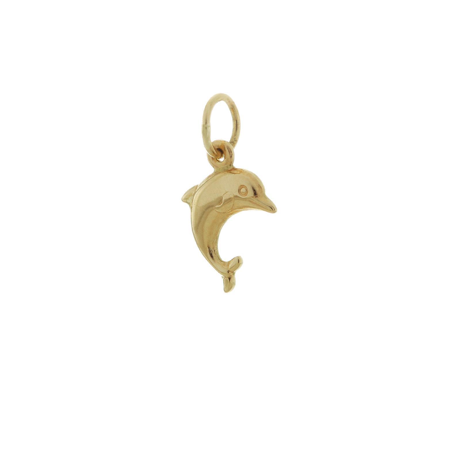 Zlatý prívesok delfín 1VZ00047