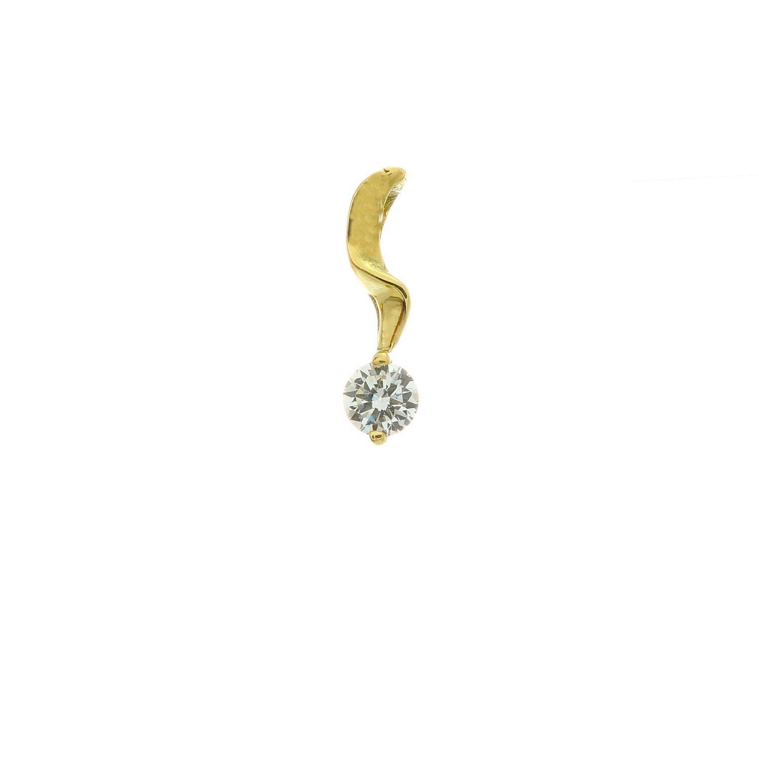 Zlatý prívesok DRESSY 3VZ00294