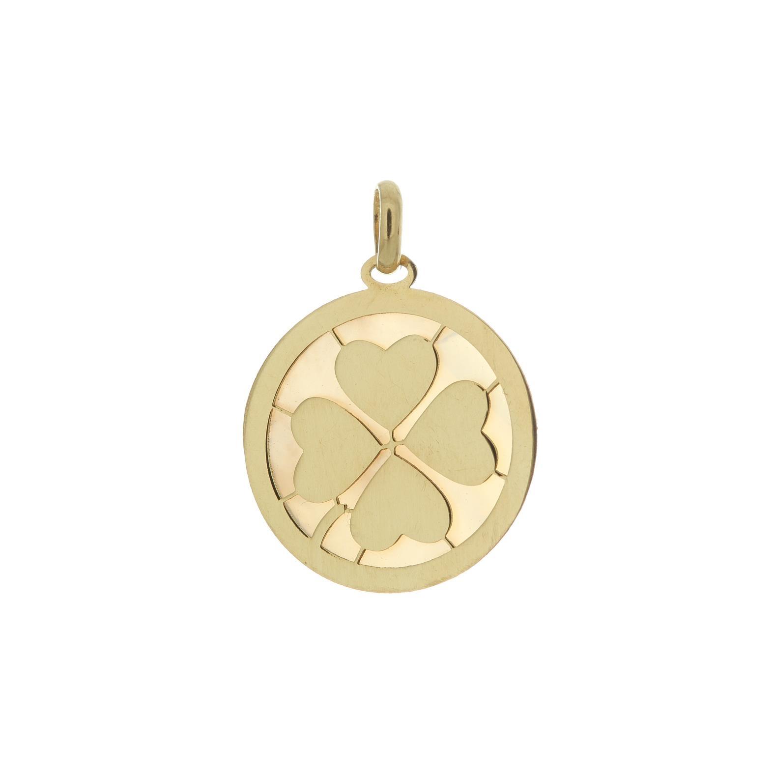 Zlatý prívesok FOUR HEARTS 1VZ00051