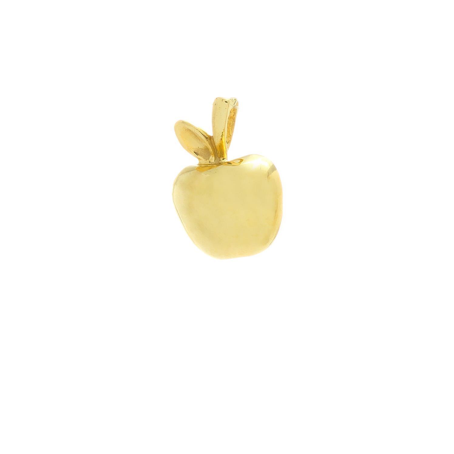 Zlatý prívesok JABLKO 3VZ00278