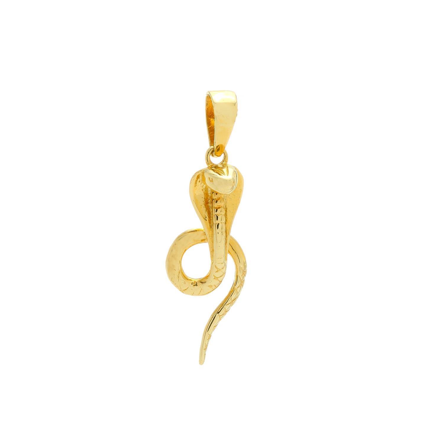 Zlatý prívesok KOBRA 1VZ00322