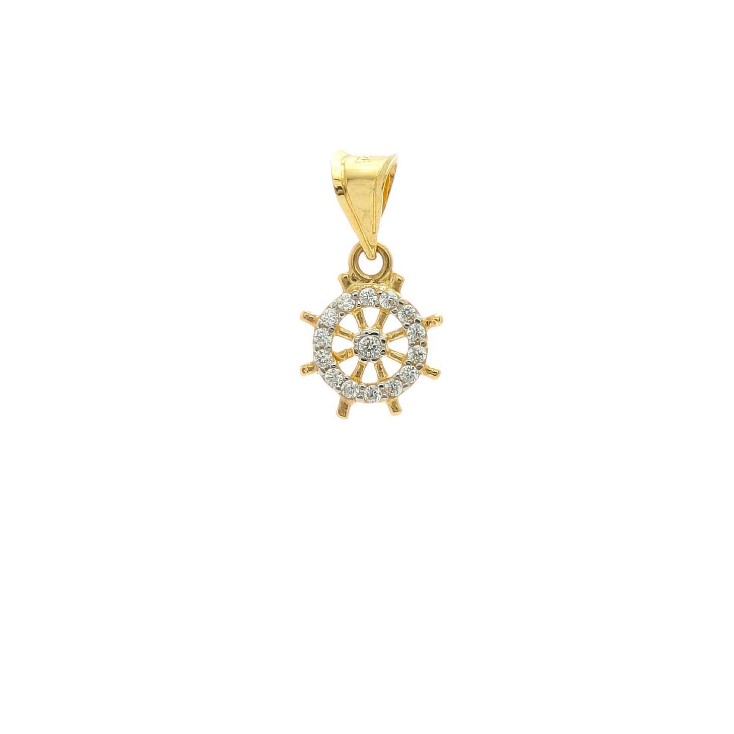 Zlatý prívesok KORMIDIELKO 1VZ00368