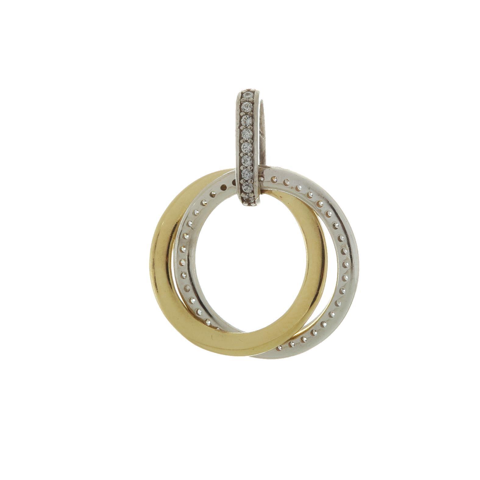 Zlatý prívesok kruhy 1VK00041