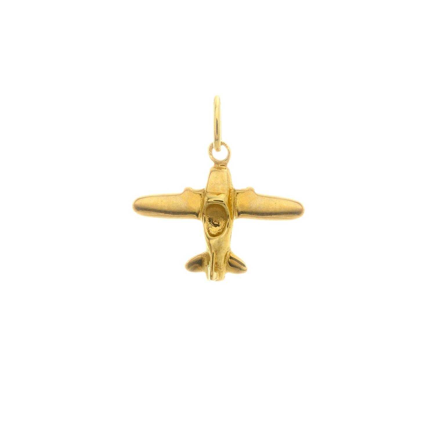 Zlatý prívesok LIETADIELKO 3VZ00305