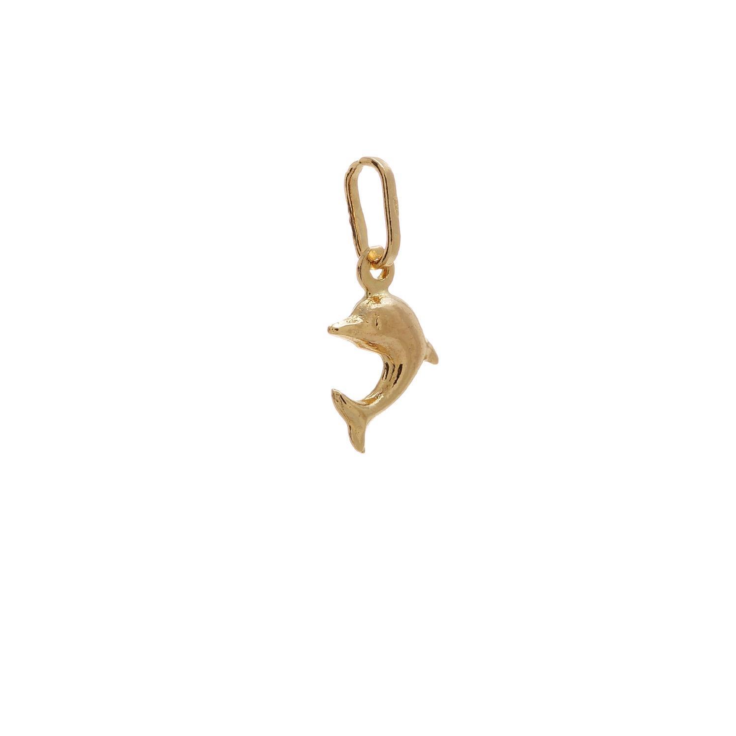 Zlatý prívesok malý delfínik 1VZ00101