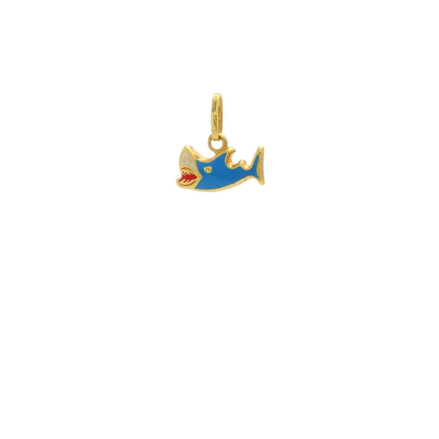 Zlatý prívesok MALÝ ŽRALOK 1VZ00352