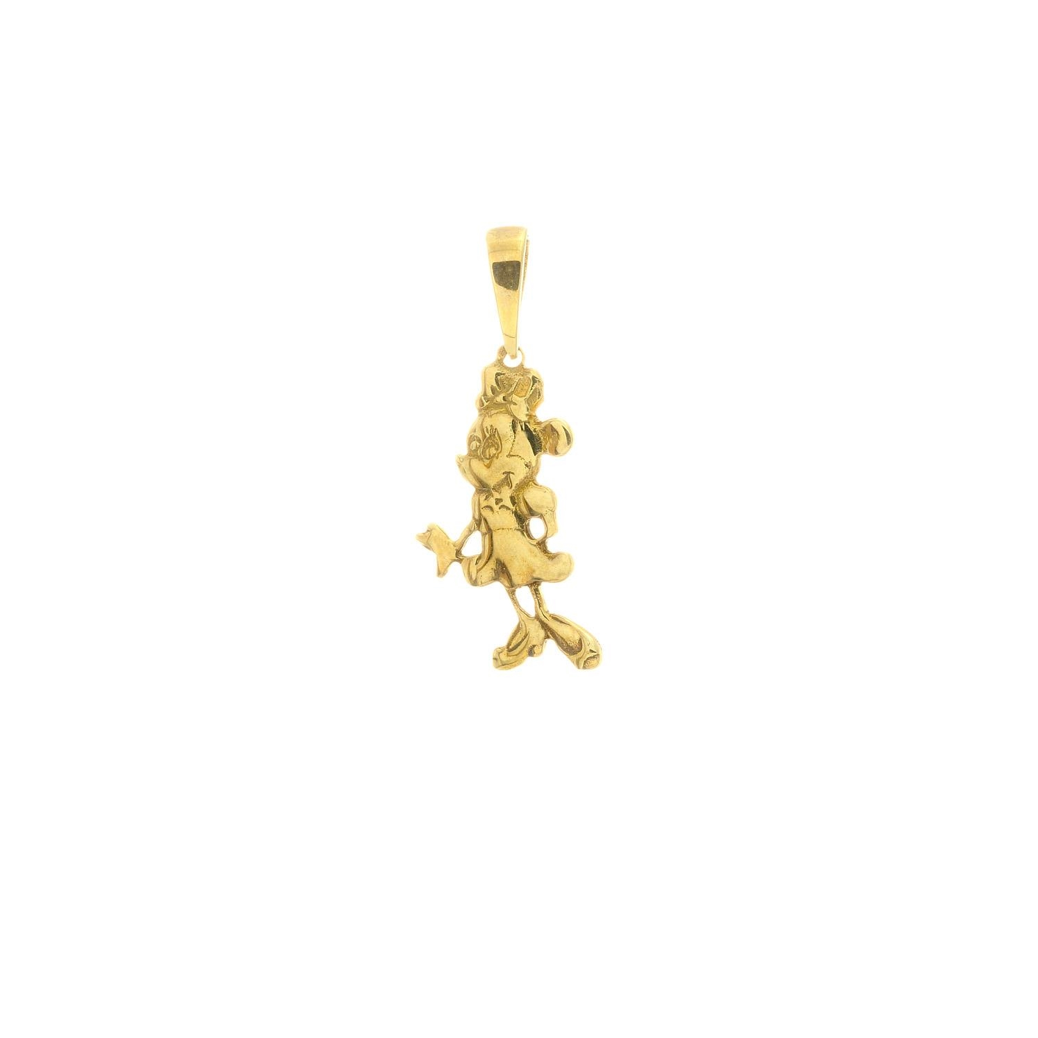 Zlatý prívesok MINNIE 3VZ00405