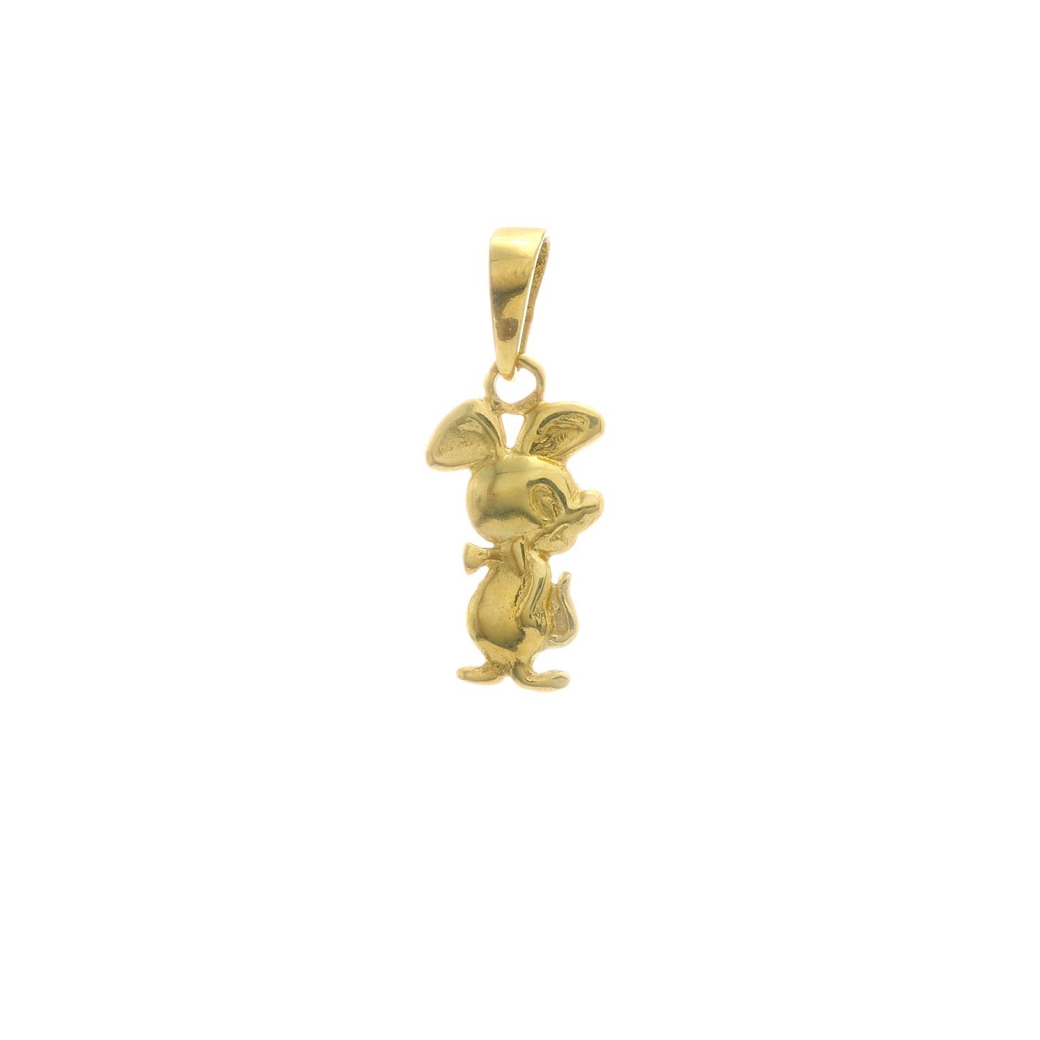 Zlatý prívesok MYŠIAK 3VZ00406