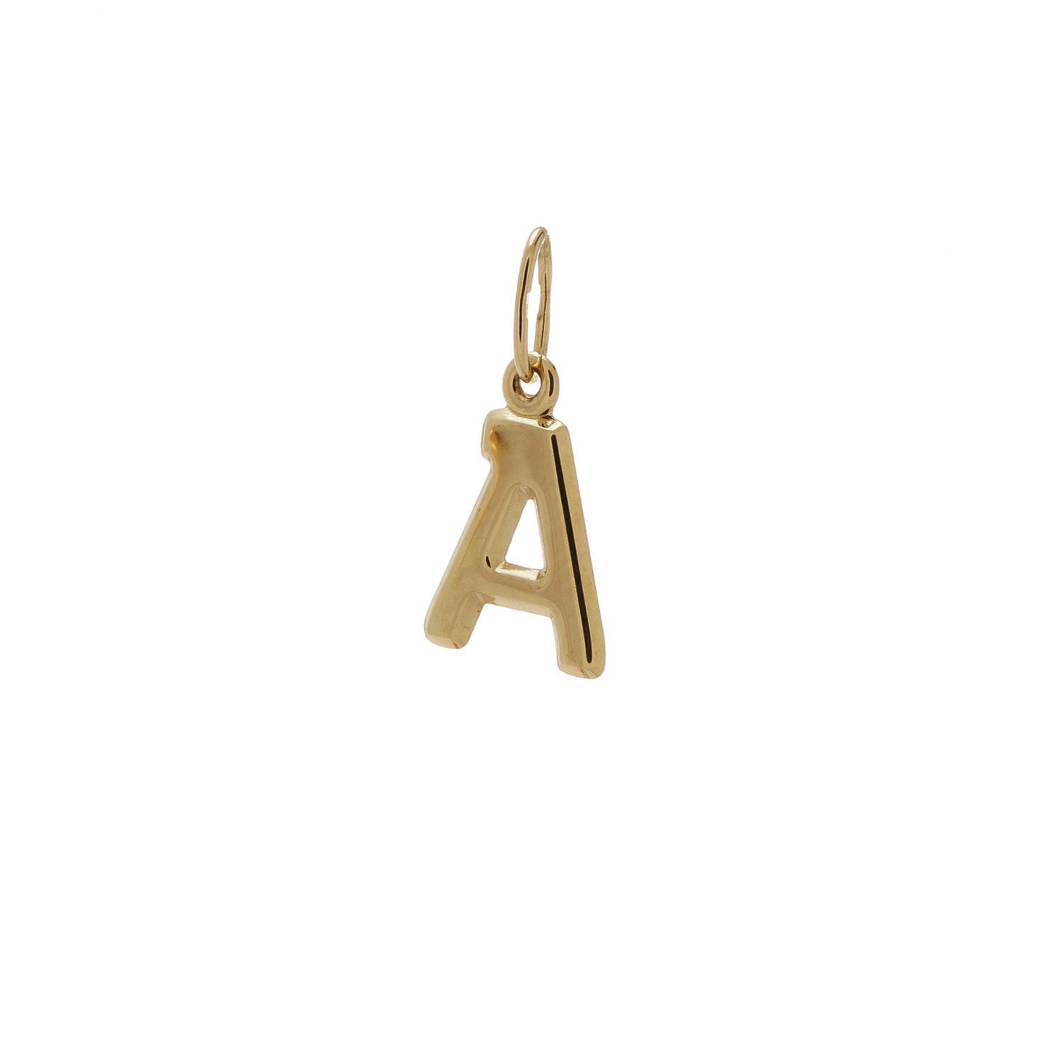 Zlatý prívesok písmenko A 2VZ00102