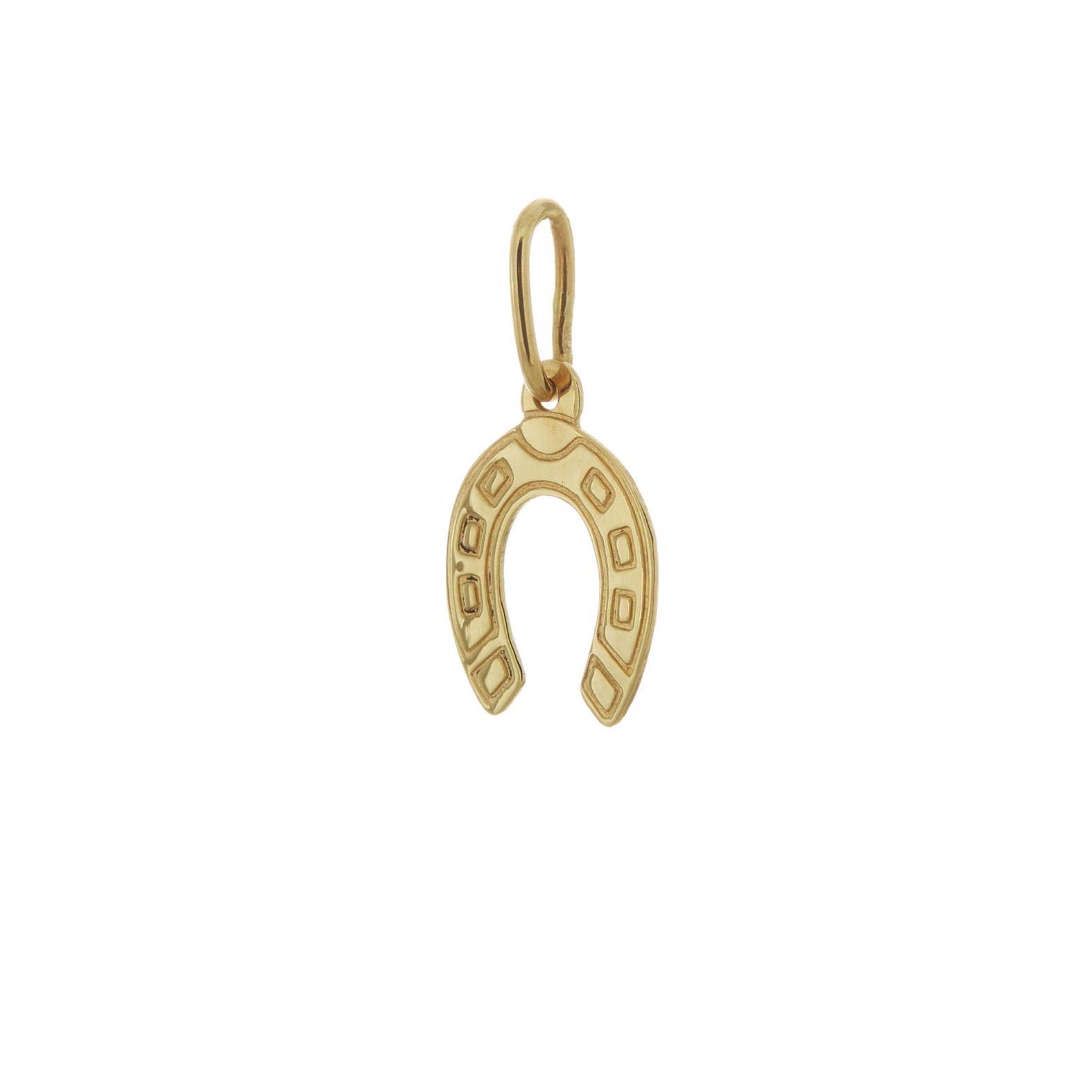 Zlatý prívesok podkovička 1VZ00059