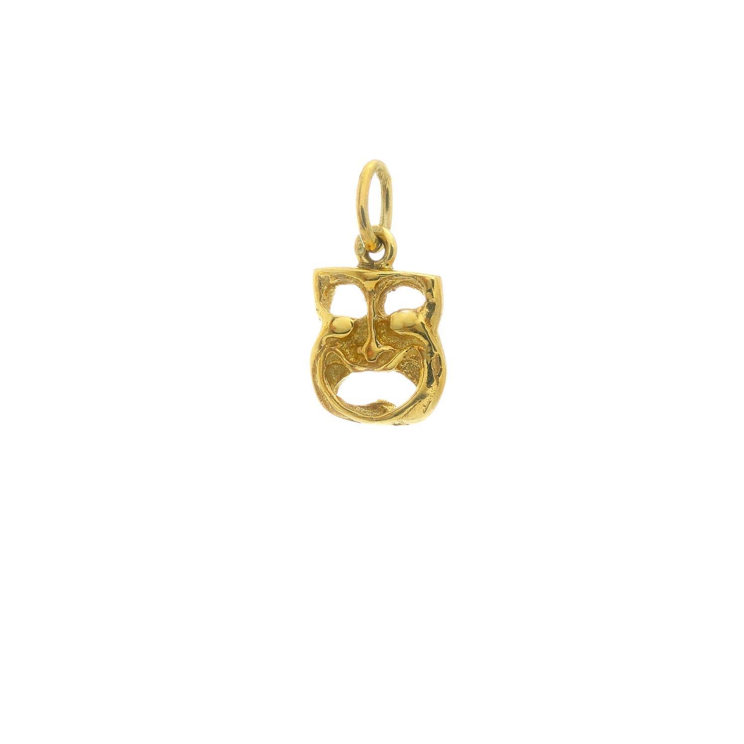 Zlatý prívesok RADOSŤ SMÚTOK 3VZ00418