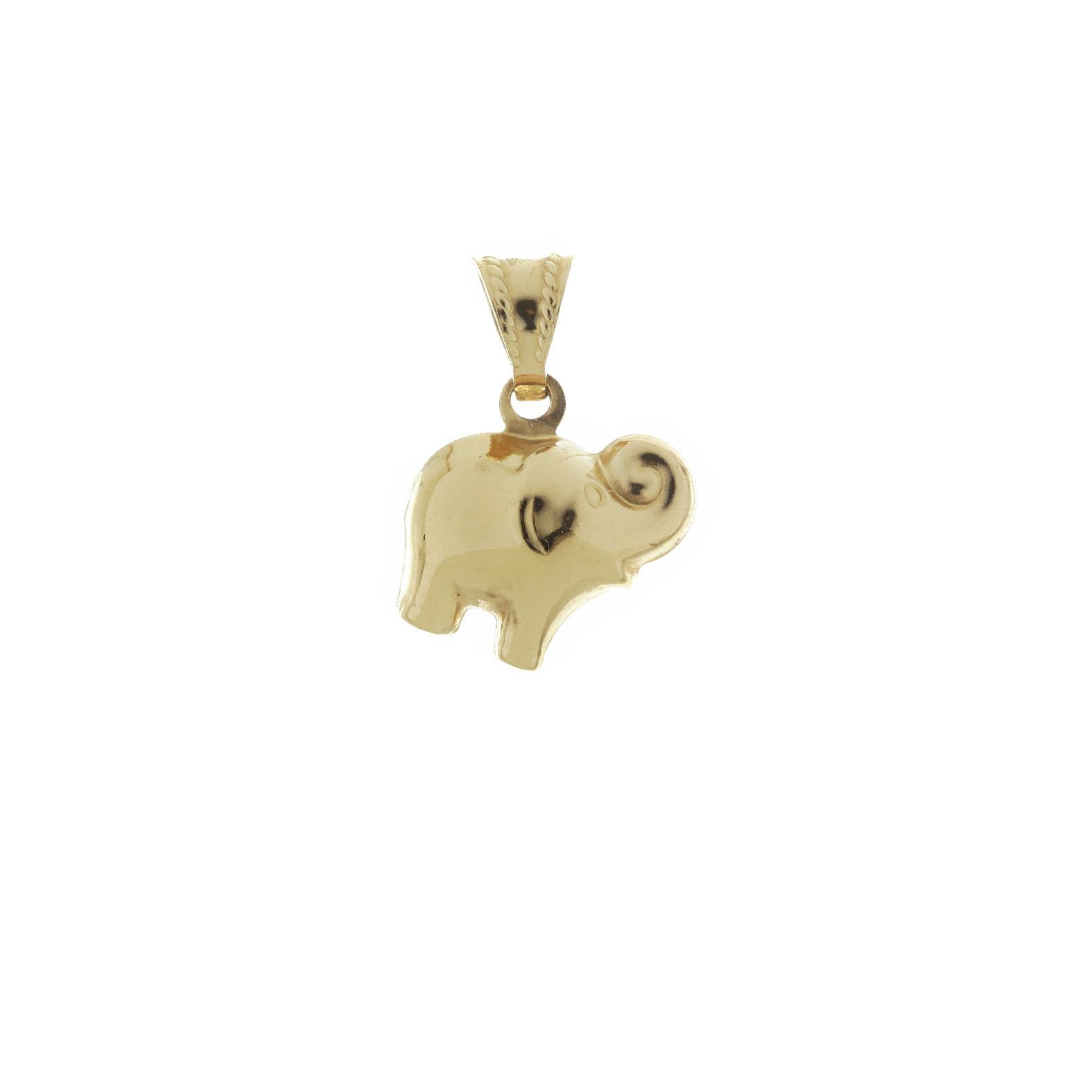 Zlatý prívesok slon 1VZ00050