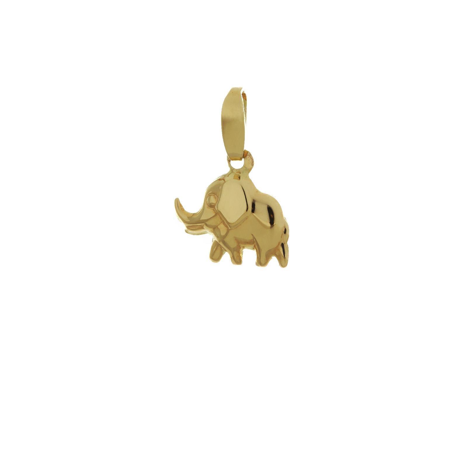 Zlatý prívesok sloník 1VZ00049