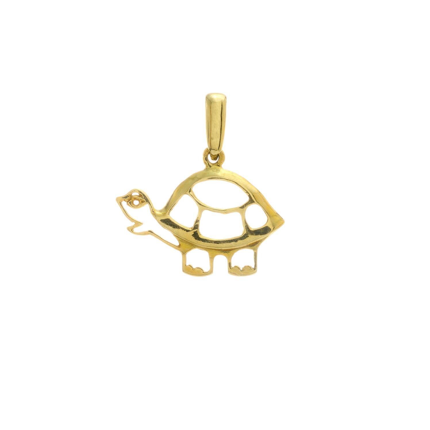 Zlatý prívesok TURTLE 3VZ00226