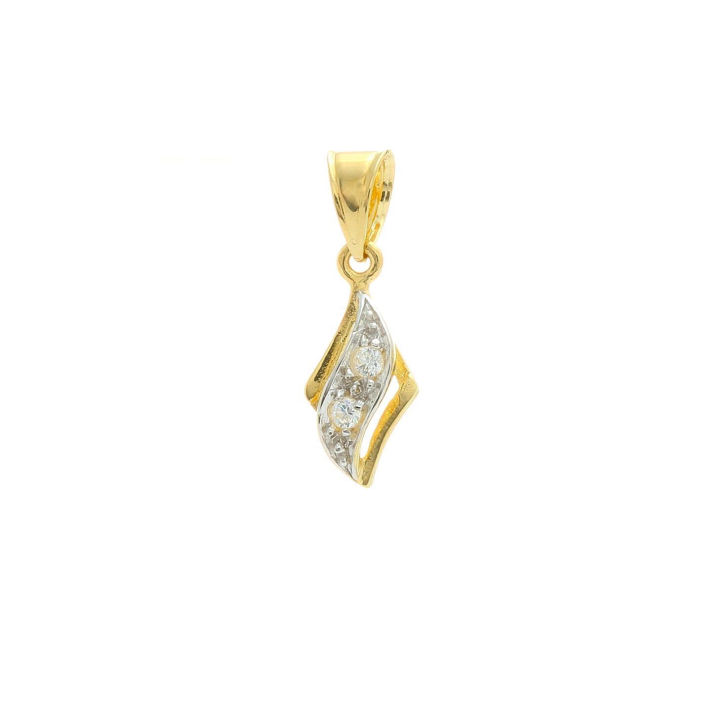 Zlatý prívesok WEIRD 1VZ00386