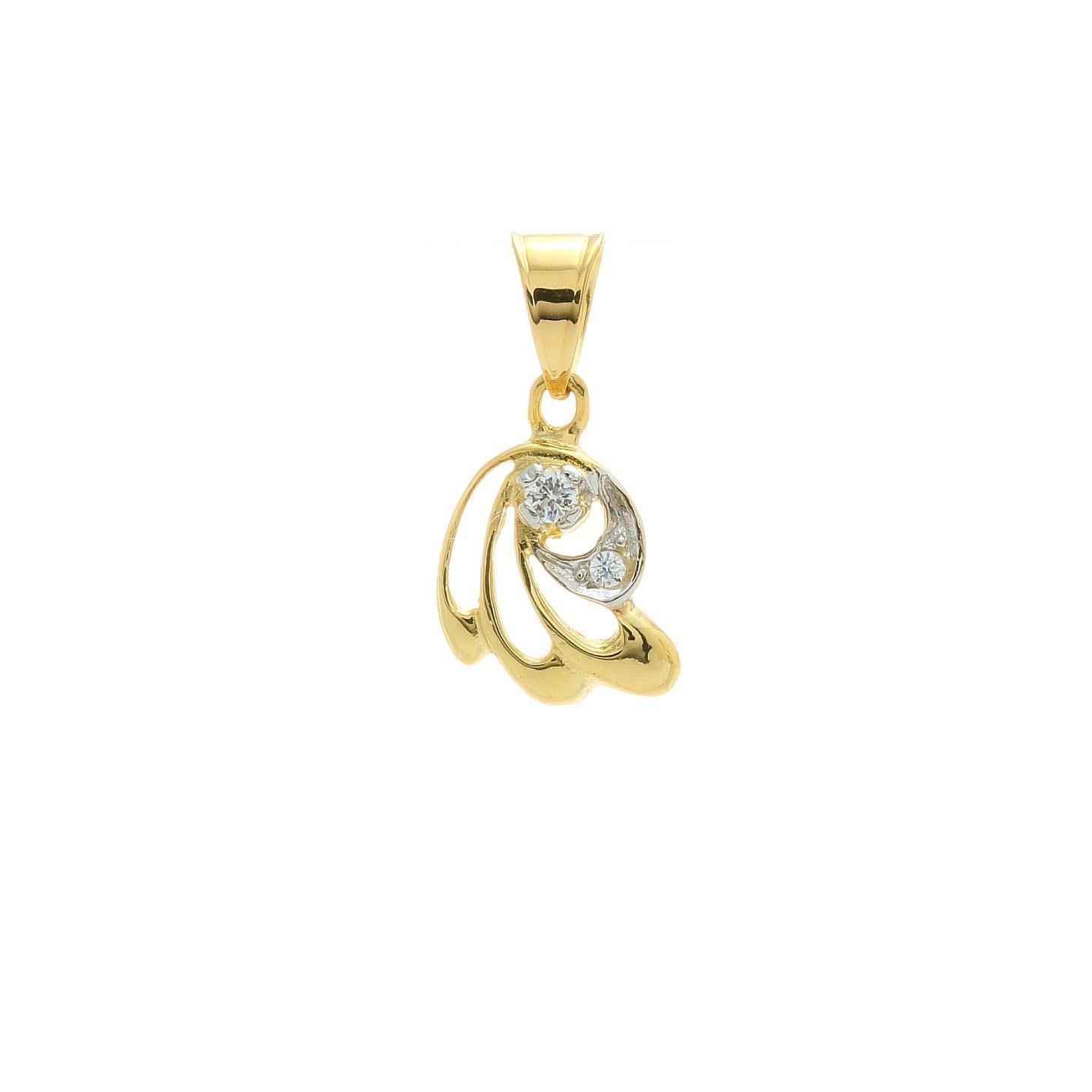 Zlatý prívesok YRITYS 1VZ00387