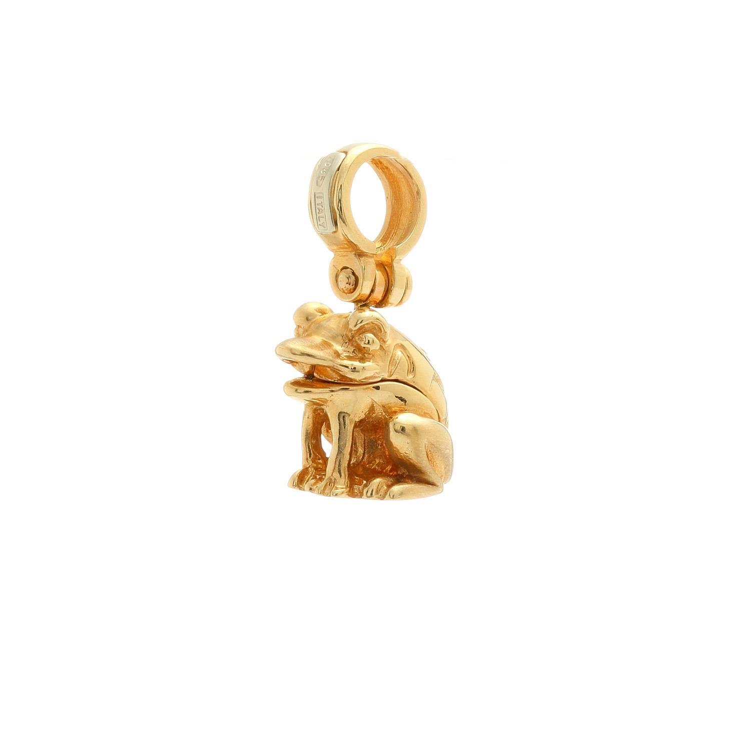 Zlatý prívesok ŽABA 1VZ00321