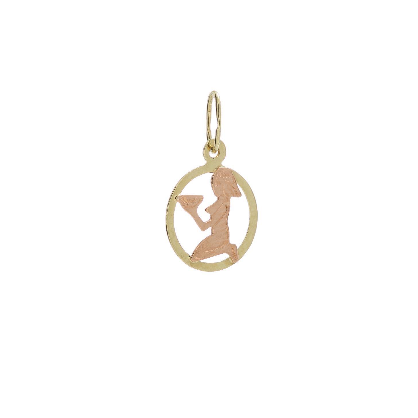 Zlatý prívesok znamenie panna 2VK00127