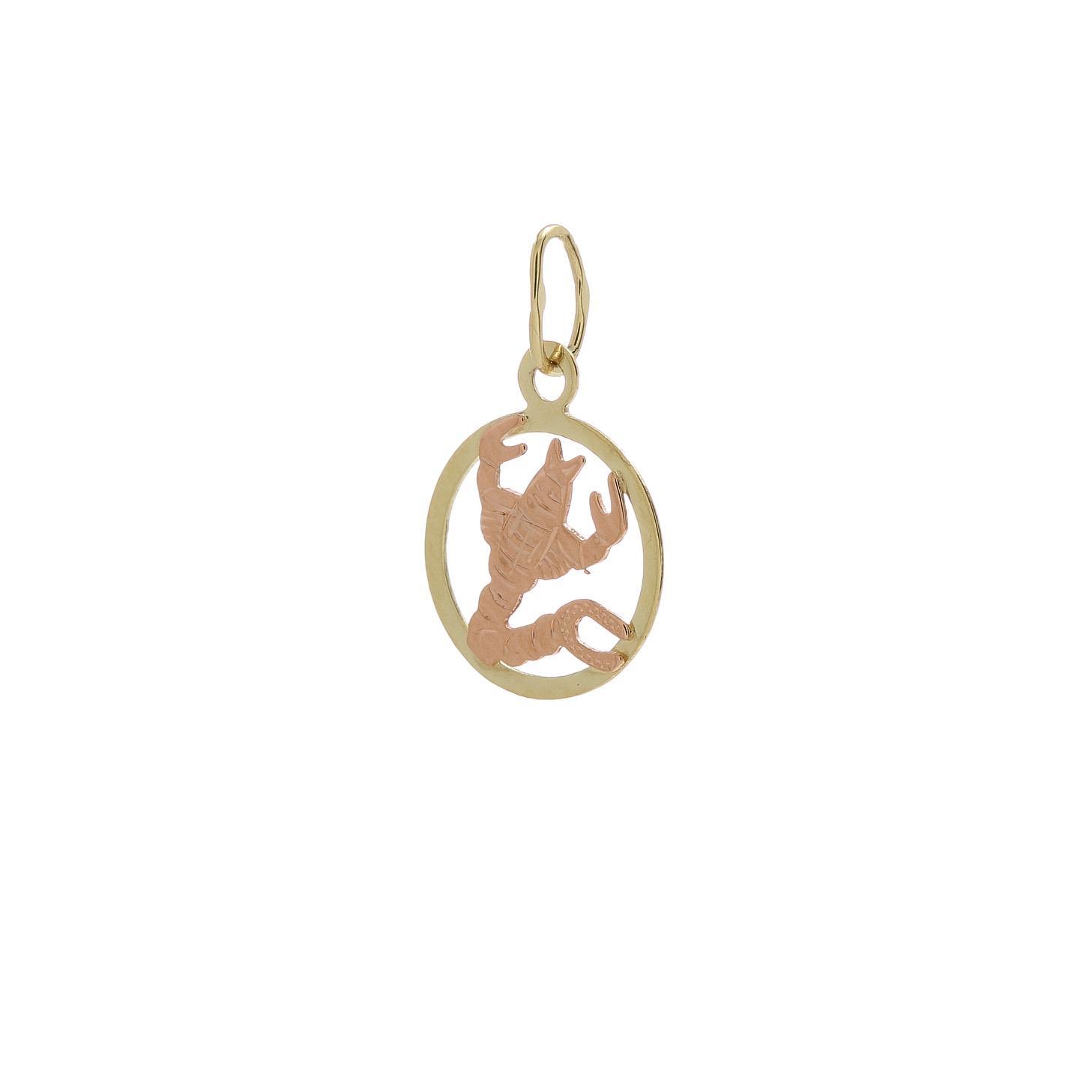 Zlatý prívesok znamenie škorpión 2VK00129