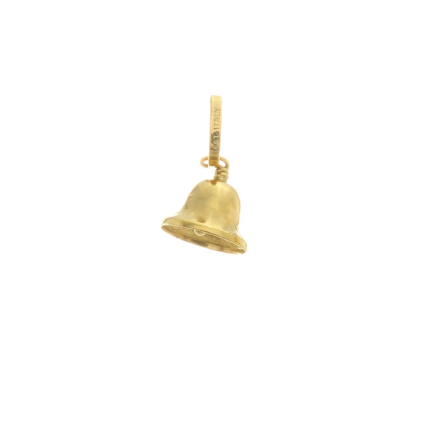 Zlatý prívesok ZVONČEK 3VZ00281