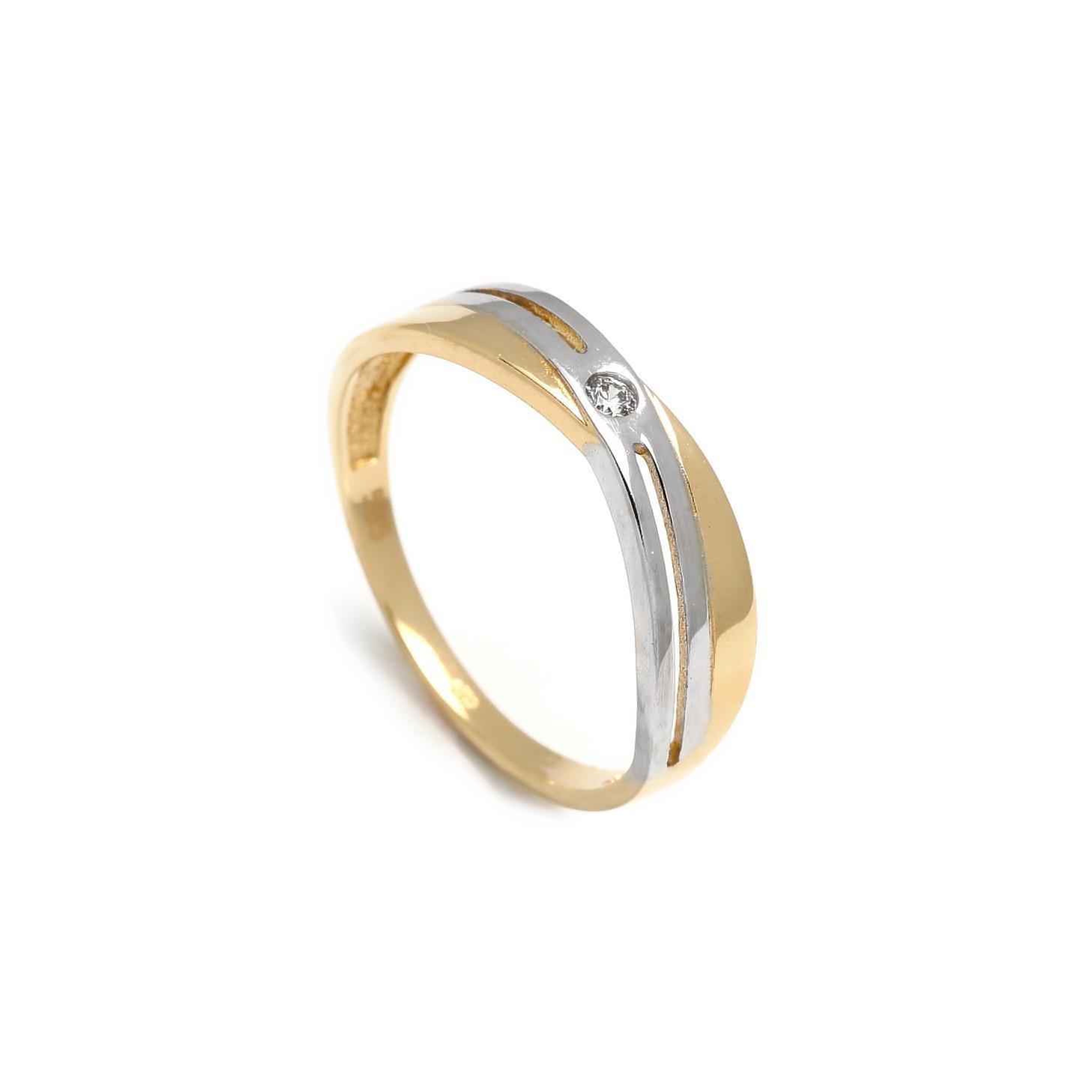 Zlatý prsteň GUIDITTA 1PK00091