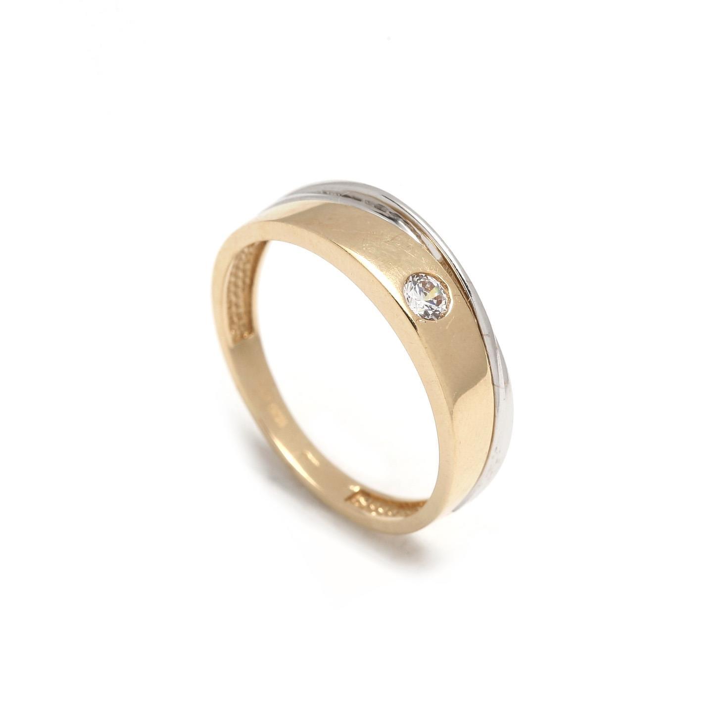 Zlatý prsteň IMELDA 1PK00093