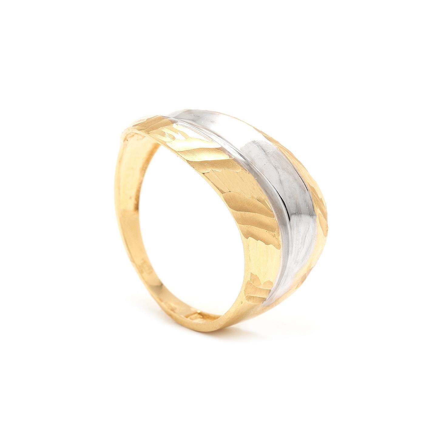 Zlatý prsteň KALAMA 7PZ00378