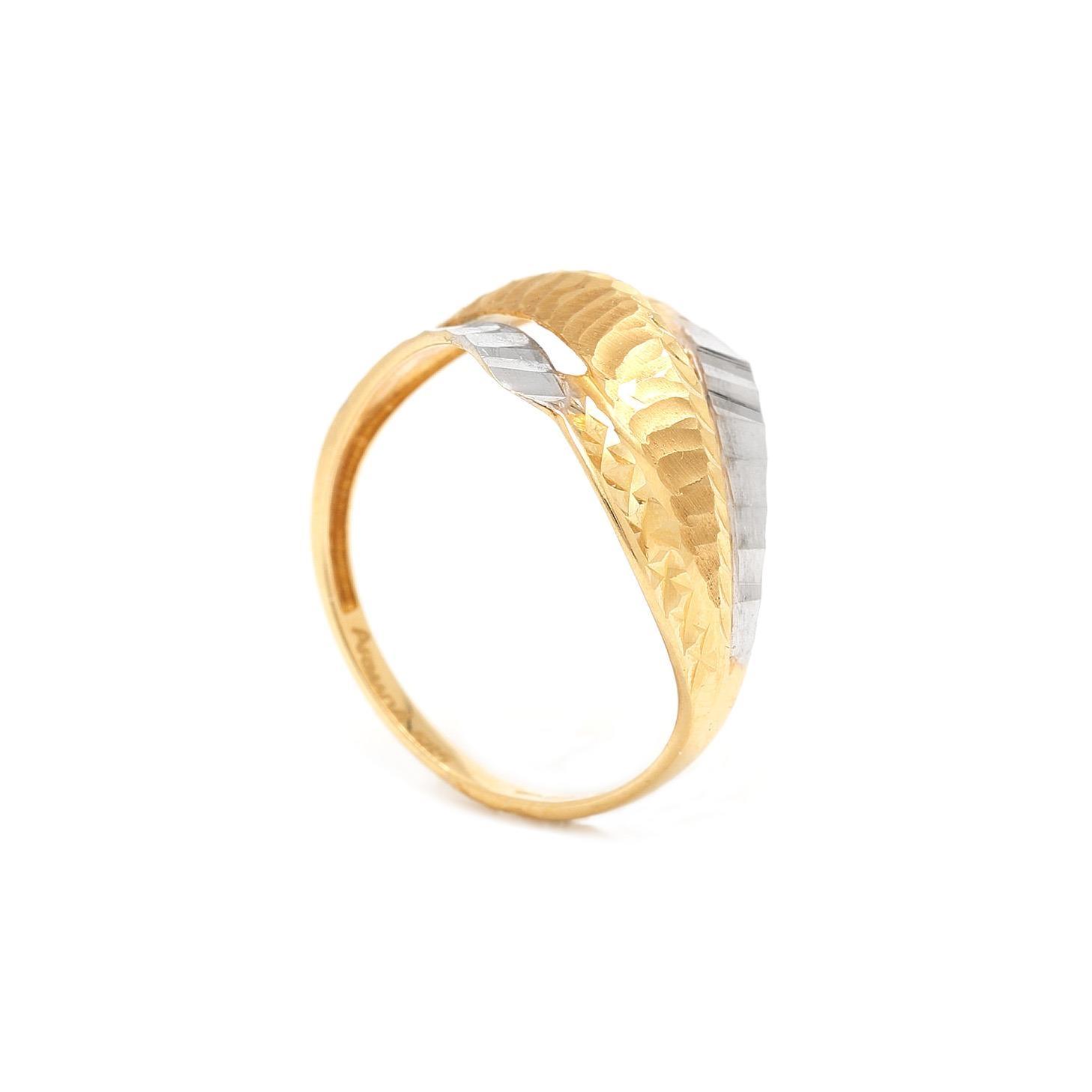 Zlatý prsteň KALANI 7PZ00379